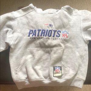 Boys patriots sweatshirt